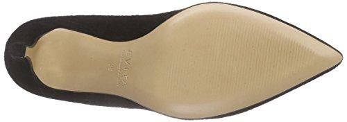 Evita Shoes Pump, Scarpe col Tacco Punta Chiusa Donna Nero (Schwarz 10)