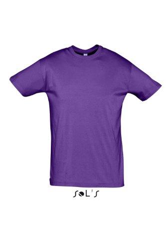 Sols - Regent - Unisex Rundhals T-Shirt , Light purple , S