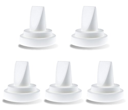 NeneSupply 5 Count Duckbill Valves for Medela and Spectra. Use with Spectra S1 Spectra S2 and Medela Pump In Style Symphony Not Original Spectra S2 Accessories Replaces Spectra Valve and (Duck Baby Bottle)
