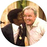 Archie Bunker and Sammy Davis Jr Racial Harmony Magnet