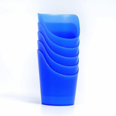 Flexi-Cut Nosey Cups - Blue Cup: 2 oz. (59ml), Set of 5