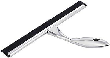 GWHOLE Regleta limpiacristales para duchas Limpiacristales Limpiador de Ventanas Acero Inoxidable: Amazon.es: Hogar