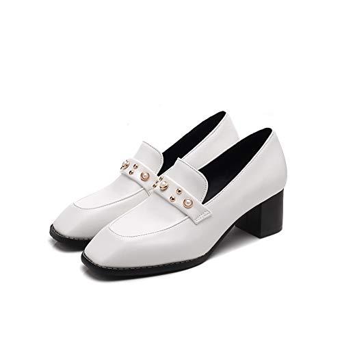 5 Blanc 36 Sandales Compensées BalaMasa EU Femme APL10708 Blanc fOO0wq4