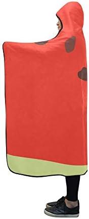 Couverture à Capuche Summer S Collection Couverture Design 60x50 Pouce Comfotable Wrap à Capuche