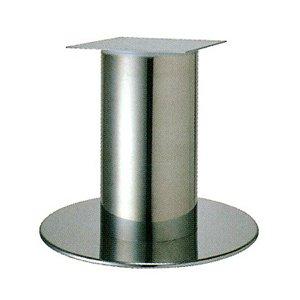 e-kanamono テーブル脚 ソフトS7620 ベース620φ パイプ101.6φ 受座240x240 ステンレス AJ付 高さ700mmまで B012CCCH2W