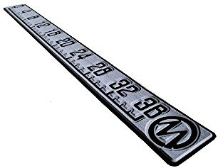 Fishing Ruler 36' by Marine Mat. Color: Slate Gray/Black