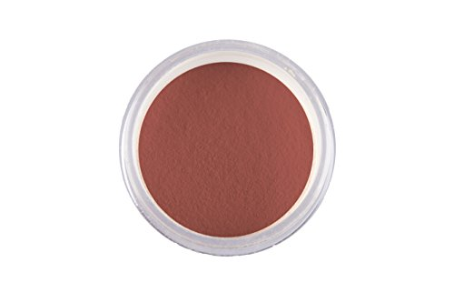AQUAGLOW California Loose Blush - Natural and Organic (Made in USA) (1 Pack, Rosewood) (Rosewood Blush)