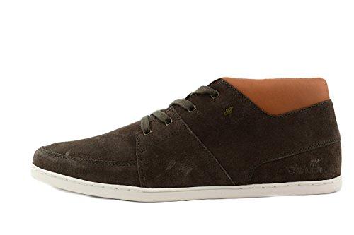 Boxfresh Cluff e 14797Khaki Tan Sneaker WXD/Lea da uomo cachi