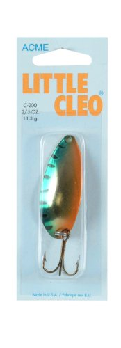 ACME Little Cleo Fishing Terminal Tackle, 2/5-Ounce, Metallic Perch from ACME