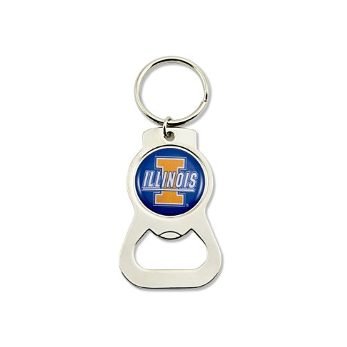 NCAA Illinois Fighting Illini Bottle Opener Key ()