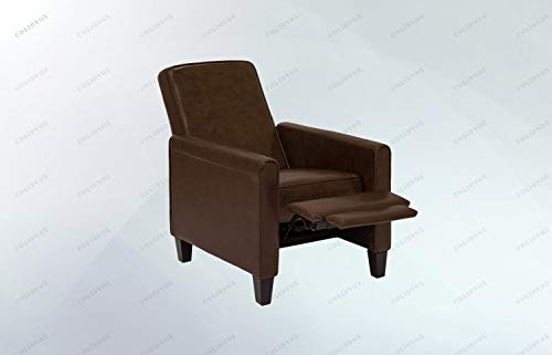 (COLIDYOX>>>Faux Leather Executive Recliner Chair Beautiful faux leather upholstery creates a stylish and inviting appeal for any room Furniture piece is crafted with soft foam padding and a sturdy, du)