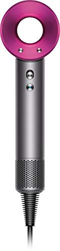 Dyson Supersonic Hair Dryer, Iron/Fuchsia (Renewed)