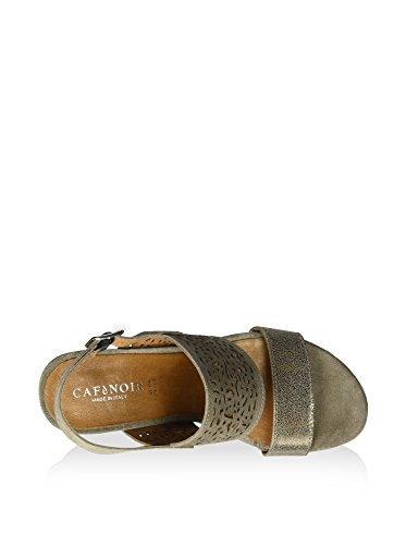 Cafenoir , Damen Sandalen, grau - taupe - Größe: 39