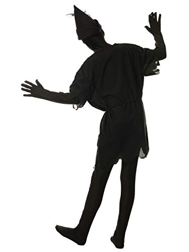 Kids Peter Pan Shadow Costume size Small 6-8 ()