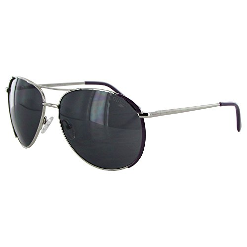 Guess Womens GF0267 Wire Rim Aviator Fashion Sunglasses Silver - Sunglasses Prescription Guess