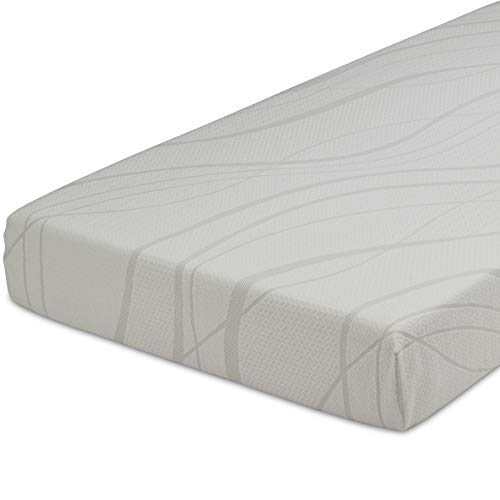 Delta Home 6-inch Memory Foam Mattress | Bed in a Box | Waterproof | Certified by CertiPUR-US (Natural/Non-Toxic) | 5-Year Warranty, Twin Mattress