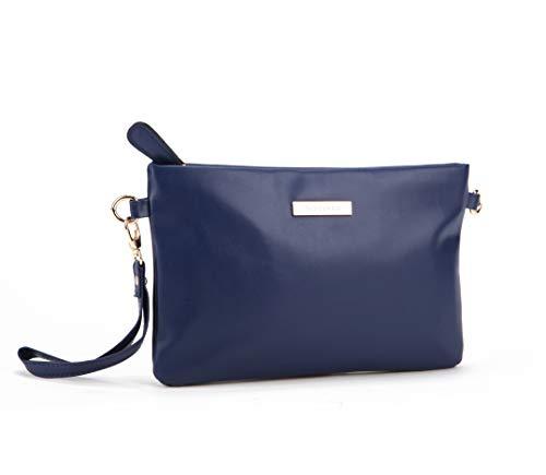 Nodykka Purses and Handbags Crossbody Bags for Women Minimalist Small Purse PU Leather Wristlet Clutch Shoulder Bag