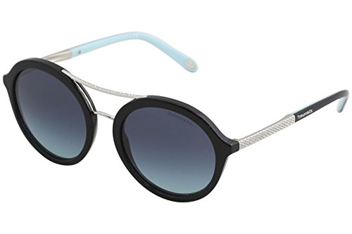 Tiffany & Co. Women TF4136B 52 Black/Blue Sunglasses 52mm by Tiffany & Co.