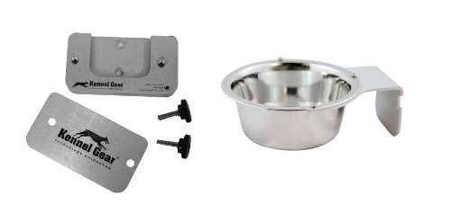 Kennel-Gear 1-Pint Dog or Cat Bowl, My Pet Supplies