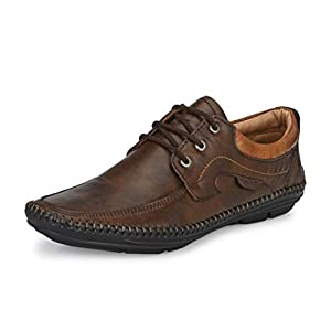 Mactree Men Flexible-Stitched Sole Premium Formal Shoes for Men