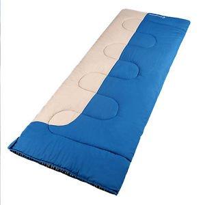 Comfort Envelope Flannel Lined Oversize Sleeping Bag Machine Washable by Sleeping Bag