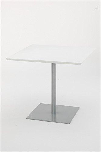 リフレッシュテーブル スクエア W800×D800 RFRT-800S ホワイト B016UC1CUI