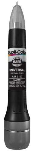 - Dupli-Color ASF0100 Universal Black Exact-Match Scratch Fix All-in-1 Touch-Up Paint
