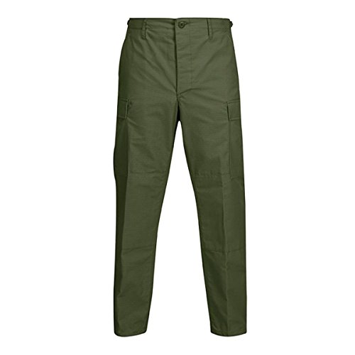 Propper BDU Trouser, 100% Cotton Ripstop, ExtraLarge-Regular, Olive (International Cotton Propper Trousers)