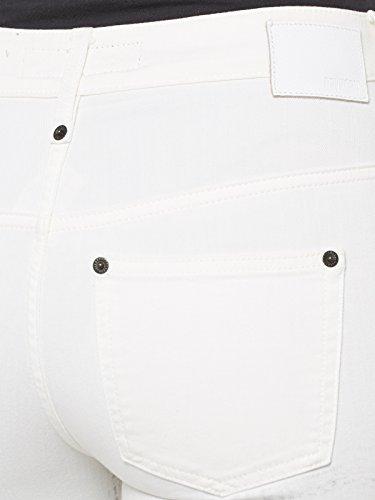 DRYKORN Seeyou Jeans 28/32 weiss/schwarz