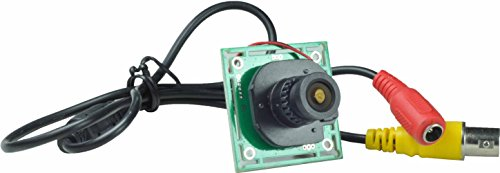 Ansice -- 2.1mm Lens Wide Angle Mini Cmos Board Camera 1000TVL With IR-CUT CCTV Security With Bonus Power Supply (Camera Wide Board Angle)