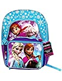 Disney Frozen 16' Deluxe Backpack with Removable Lunch Tote