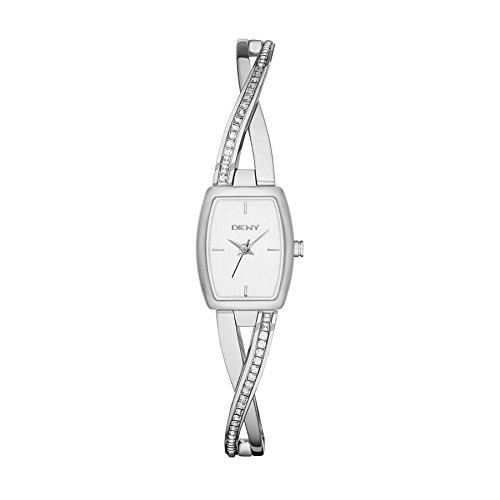 DKNY Reloj analogico para Mujer de Cuarzo con Correa en Acero Inoxidable NY2252