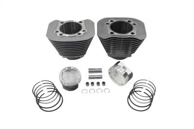 V-Twin 11-0336 1200cc Cylinder and Piston Conversion Kit Silver