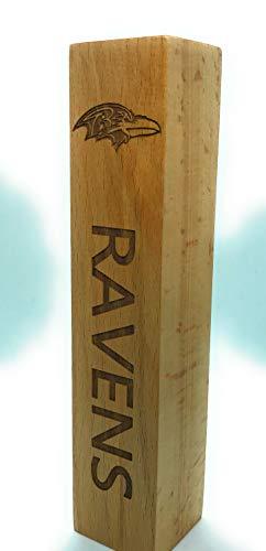 Baltimore Ravens Beer Tap Handle Engraved