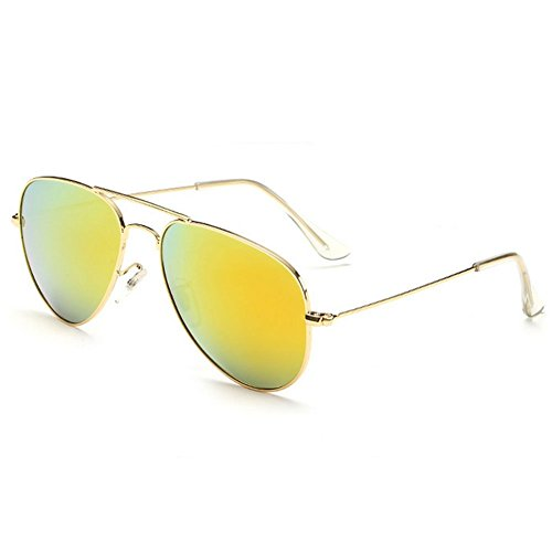 Mr.Right Fashion Cool Reflective Lens Aviator Style Uv Protection - How To Glasses Check Polarized