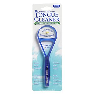 Cobalt Blue Tongue Cleaner - 1 pc,(Pureline Oralcare) by THE TONGUE CLEANER