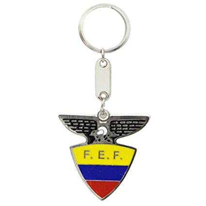 Amazon.com : Keychain ECUADOR SOCCER FEDERATION : Sports Fan ...