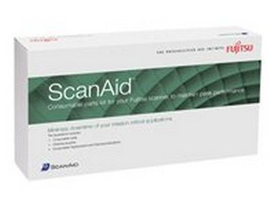 Fujitsu ScanAid - Scanner consumable kit - for ScanSnap S300, S300 Deluxe Bundle, - Scansnap Fujitsu S300
