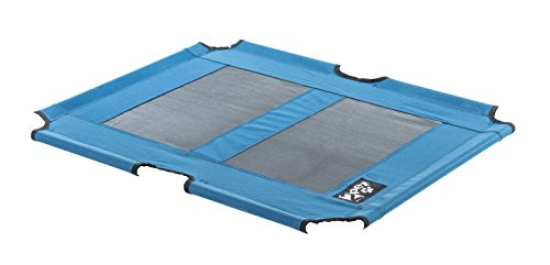 2PET Elevated Pet Bed by replacement fabric for EPB05 Large Blue Review