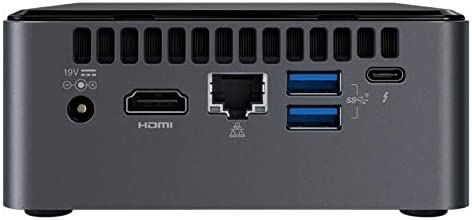 "Intel NUC Kit NUC8I7BEH2 - Kit ordenador Mini PC (Intel Core i7-8559U, Espacio para hasta 32 GB SODIMM DDR4 RAM, Espacio para disco M.2 + 2.5"" SSD/HDD"