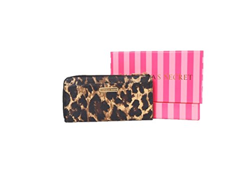 Victoria's Secret Semi Accordian Leather Wallet (Leopard)