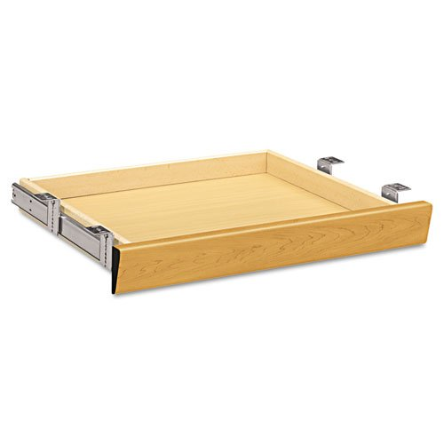 (HON Single Pedestal Center Drawer, 22 by 25-3/8 by 2-1/2-Inch, Harvest)