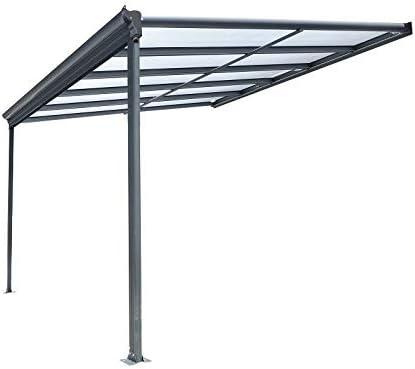 BST Outdoor Essentials - Cubierta para pérgola de Aluminio para ...