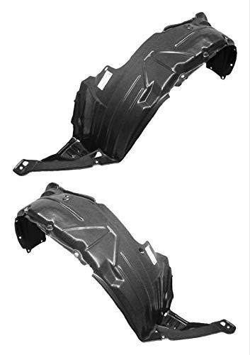 (Parts N Go 2002-2006 CRV Fender Liner Pair Driver & Passenger Side Splash Shield - HO1249116,)