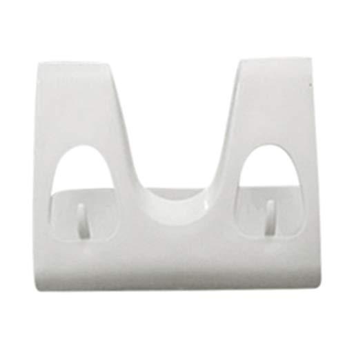 (YJYdada Plastic Kitchen Pot Pan Cover Shell Cover Sucker Tool Bracket Storage Rack (White))