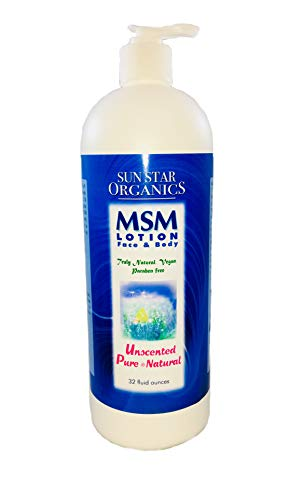 MSM Natural Pure & Natural Lotion-32 ozs.