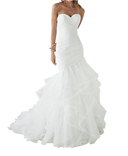 Satin Taffeta Wedding Dress - 5
