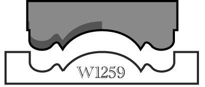 Woodstock W1259 2-1/4-Inch Rosette Knife