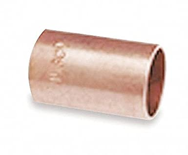 NIBCO Wrot Copper Coupling Without Stop, C x C Connection