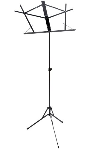 Ravel SSRAVEL Folding Music Stand, Black